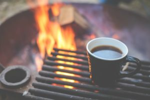 Coffee on the Campfire Grill
